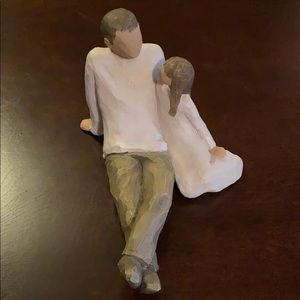 """Willow Tree """"Father and Daughter"""" Figurine"""